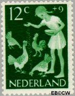 Nederland NL 782  1962 Kinderactiviteiten 12+9 cent  Postfris