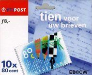 Nederland NL 1571-72  1999 Tien voor uw brieven  cent  Postfris