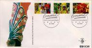 Aruba AR E19  1989 Carnaval  cent  FDC zonder adres