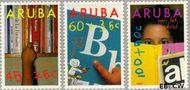 Aruba AR 97#98  1991 Lezen  cent  Postfris