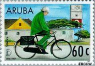 Aruba AR 190  1997 Postdienst 60 cent  Gestempeld