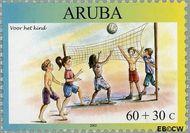 Aruba AR 311  2003 Kinderzegels 60+30 cent  Gestempeld