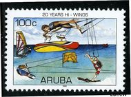 Aruba AR 364  2006 Hi-Winds 100 cent  Gestempeld