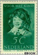 Nederland NL 303  1937 Kinderportret Frans Hals 5+3 cent  Gestempeld