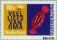 Nederland NL 1758  1998 Ouderen 80+40 cent  Gestempeld