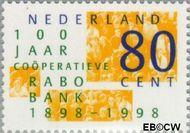 Nederland NL 1764  1998 RABObank 80 cent  Gestempeld