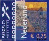 Nederland NL 2141  2003 Vincent van Gogh 75 cent  Gestempeld