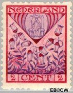 Nederland NL R78  1927 Wapens 2+2 cent  Gestempeld