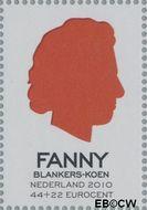 Nederland NL 2716b  2010 Helden van toen en nu 44+22 cent  Gestempeld
