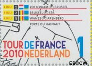 Nederland NL 2723  2010 Tour de France 1 cent  Gestempeld