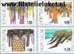 POR 1353#1356 Postfris 1977 Bosbouw
