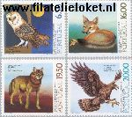 POR 1490#1493 Postfris 1980 Natuurbescherming