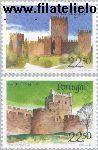 POR 1688#1689 Postfris 1986 Burchten en sloten