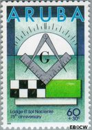 Aruba AR 180  1996 Lodge 60+30 cent  Gestempeld