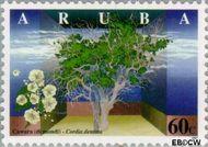 Aruba AR 201  1997 Bomen 60 cent  Gestempeld