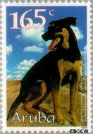 Aruba AR 231  1999 Honden 165 cent  Gestempeld