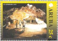 Aruba AR 251  2000 Landschappen 25 cent  Gestempeld