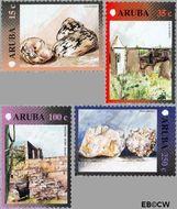Aruba AR 270#273  2001 Standaardserie IV  cent  Postfris