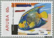 Aruba AR 321  2004 Vissen 60 cent  Gestempeld