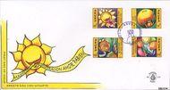 Aruba AR E116  2005 Wenszegels  cent  FDC zonder adres