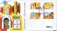Aruba AR E131  2007 Historische musea  cent  FDC zonder adres