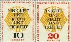 Berlin ber 174#175  1957 3e Duitse Bondsdag  Postfris