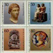 Berlin ber 708#711  1984 Kunstschatten  Postfris