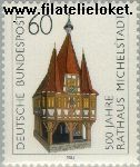 Bundesrepublik BRD 1200#  1984 Michelstadt- Stadhuis  Postfris