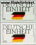 Bundesrepublik BRD 1477#1478  1990 Duitse eenheid  Postfris
