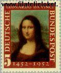 Bundesrepublik BRD 148#  1952 Da Vinci, Leonardo  Postfris