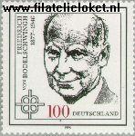Bundesrepublik BRD 1835#  1996 Bodelschwingh, Friedrich von  Postfris