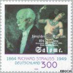 Bundesrepublik BRD 2076#  1999 Strauss, Richard  Postfris