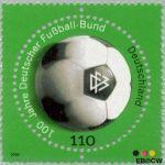 Bundesrepublik BRD 2091#  2000 Duitse Voetbalbond  Postfris