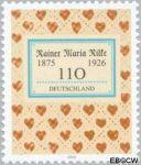 Bundesrepublik BRD 2154#  2001 Rilke, Rainer Maria  Postfris