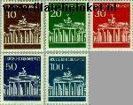 Bundesrepublik BRD 506#510  1966 Brandenburger Tor  Postfris