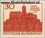 Bundesrepublik BRD 544#  1967 Wartburg  Postfris