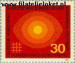 Bundesrepublik BRD 595#  1969 Evangelische kerkendag  Postfris