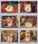 Gibraltar gib 1022#1027  2002 Bijbelse voorstellingen  Postfris