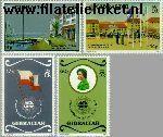 Gibraltar gib 459#462  1983 Commonwealth-dag  Postfris