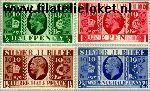 Groot-Brittannië grb 189#192  1935 George V- Regeringsjubileum  Postfris