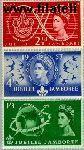 Groot-Brittannië grb 299#301  1957 Scouting  Postfris