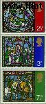 Groot-Brittannië grb 587#589  1971 Glas-in-lood  Postfris