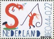 Nederland NED 2608f  2008 Laat kinderen leren 44+22 cent  Postfris