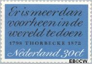 Nederland NL 1009#  1972 Thorbecke, J.R.  cent  Gestempeld