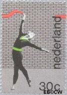 Nederland NL 1033  1973 WK Gymnastiek 30 cent  Gestempeld