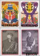 Nederland NL 1046#1049  1974 Cultuur  cent  Gestempeld