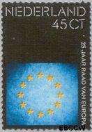 Nederland NL 1057  1974 Raad van Europa 45 cent  Gestempeld