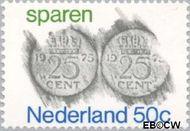 Nederland NL 1078  1975 Sparen 50 cent  Gestempeld