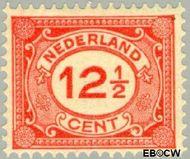 Nederland NL 108  1922 Cijfer type 'Vürtheim' 12½ cent  Ongebruikt