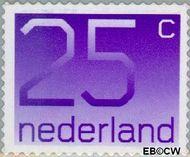 Nederland NL 1110b  2001 Cijfer type 'Crouwel' 25 cent  Postfris